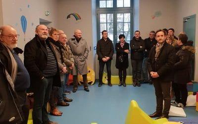 Réception des travaux de la nouvelle garderie d'Andelot