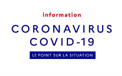 Covid-19 au 17/03/20