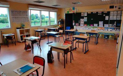 Réouverture des écoles et des 2 structures petite enfance