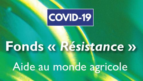 Fonds Résistance Aide au monde agricole